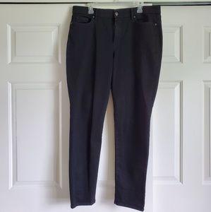 Gloria Vanderbilt Slimming Effect Skinny Jeans Bk